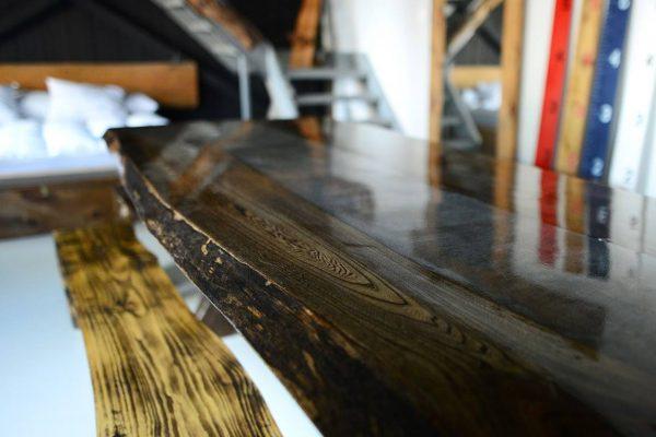 tables sur mesure en bois
